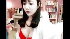 Sexy Lady Teasing On Webcam 10001