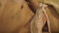 Cum in lace panties
