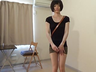 Preview 5 of crossdresser wearing a mini skirt