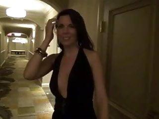 Naked on cross - Milf naked on the hotel corridor