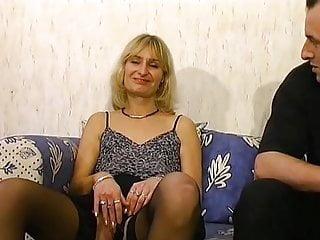 Sandrine mature libertine enculer par Roland