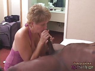 Preview 3 of Tracy Licks.....Takes MrNuttz's 9 inch, big, black cock!!