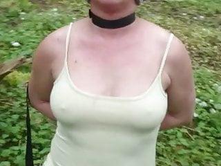 my hot Wife e im Wald 2