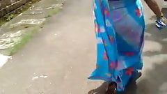 Indian Aunty Ass in Saree