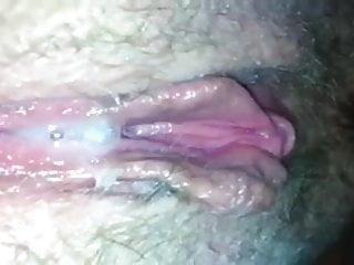up close cum dripping creampie