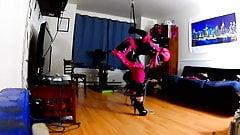 Sissy Maid Self Bondage