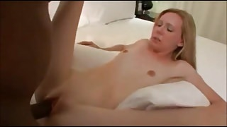 Young Chloe ruined by big black cock