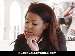 BlackValleyGirls- Preppy School Girl Sucks Cock For Populari