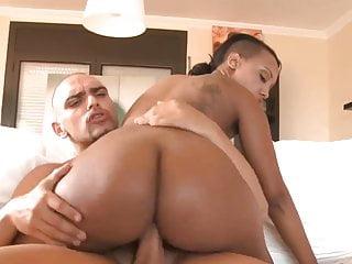 Sexy Black Slut Interracial Scene