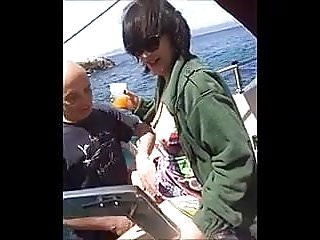 Preview 2 of Hot MILF fuck on the boat