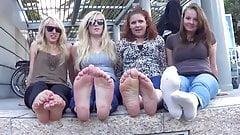4 pairs of soles