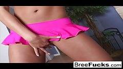 Cute pornstar Bree gives a nice POV blowjob
