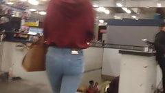 teen ass, culito en metro