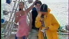 TV Presenter Wind Upskirt