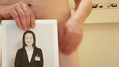 Cum Tribute to my friend hiroko