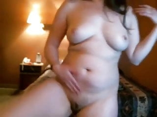 Shy Chubby Teen Ex GF showing and fingering her Pussy