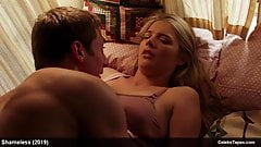Kate Miner sexy and underwear scenes in Shameless