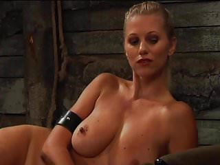 Young farm girl naked