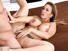 Spizoo - Aubrey Black fucking a big hard dick, big booty