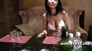 KOREA1818.COM - Hot Busty Barmaid ROOM SALON