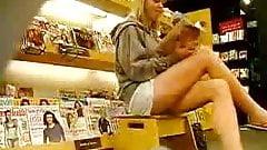 culotte a la librairie