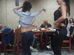 Sexy Girls Belly Dancing in Class