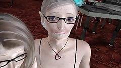 3D anime milf granny facial old 3some nerd classroom MGTOW