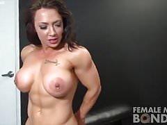 Naked female bodybuilders bondage play Thumbnail