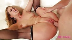 MILF Cherie Deville rides cock and swallows cum