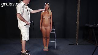 Blonde bitch cant stay put