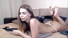 russian angel and her gorgeous feet 7