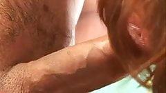 Redhead GILF Desi Foxx Fuck and Facial