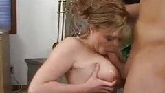 Big natural tits babe fucked