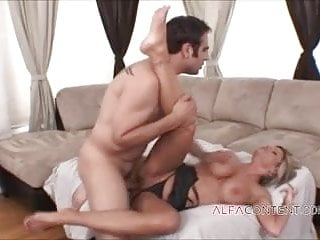 Busty MILF getting her lust satisfied with hard fuck