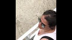 Hidden spy cam cleavage big tits