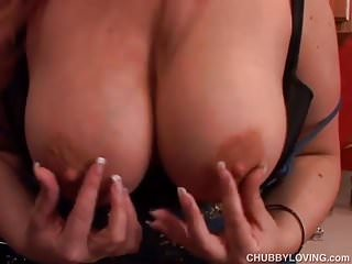 Super cute chubby redhead loves 2 fuck her soaking wet pussy