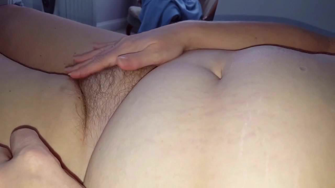 own boobs fake her Rubbing