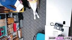 Shoplifting Teen Catarina Gets