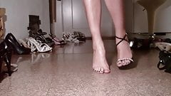 13 High heels shoes show - collection -.