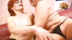 A couple of mature lesbians
