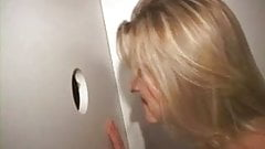 Naughty Nurse Fucking Perverts Gets a Creampie in the Gloryhole