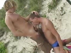 Suck My Cock on the Beach