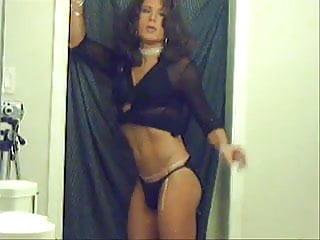 TV TS Brooke Chambers Sexy Smoking 3