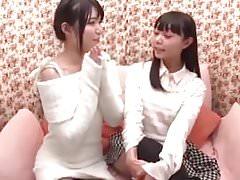sweet japanese girl first time lesbian