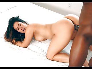 Eva Lovia Receives A Hot Bbc Creampie