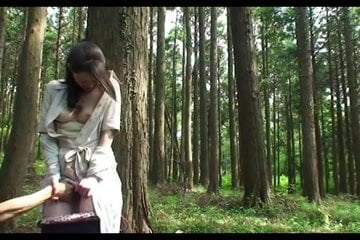 Milf forest fuck
