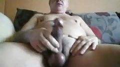 Daddy chubby cum
