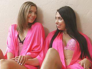 Young lesbian step-cousins