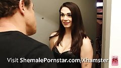 Acadia Veneer Paying the Landlord with her Tgirl Ass
