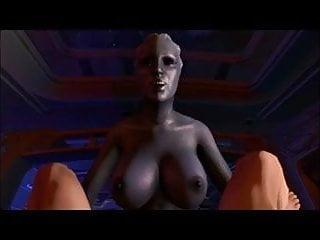 Liara T&#039;soni fucking me 3D POV <c>futanari<d> <c>Mass Effect<d>